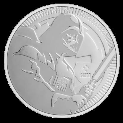 1 oz STAR WARS Darth Vader Silver Coin (2020)(Front)