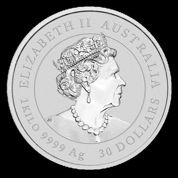 1 Kilo Lunar III Ox Silver Coin (2021)(Back)