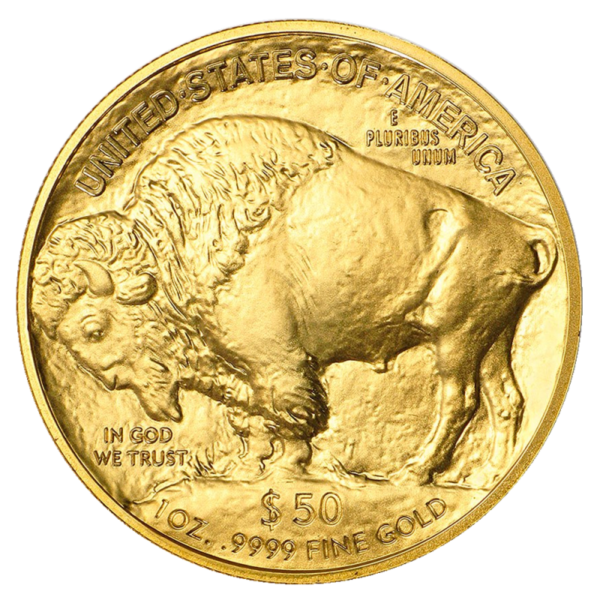 1 oz American Buffalo Gold Coin (2021)(Front)