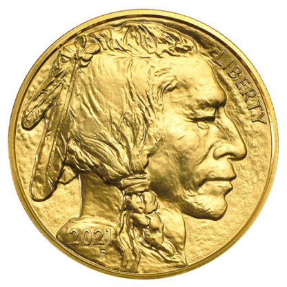 1 oz American Buffalo Gold Coin (2021)(Back)