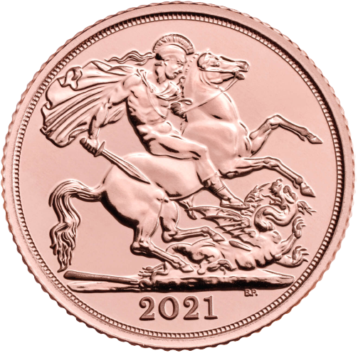 Half Sovereign Elizabeth 2021