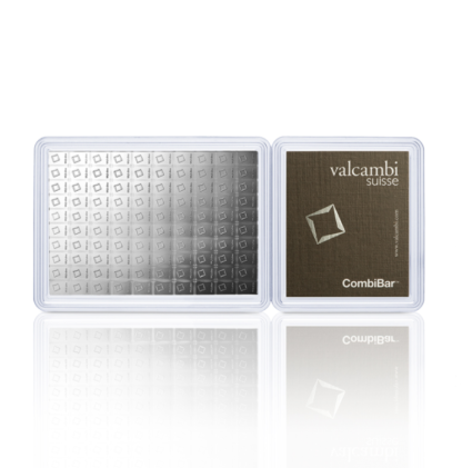100 x 1g Silver Combicoin | Valcambi(Front)