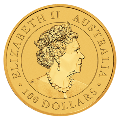 1 oz Perth Mint Emu Gold Coin (2021)(Back)