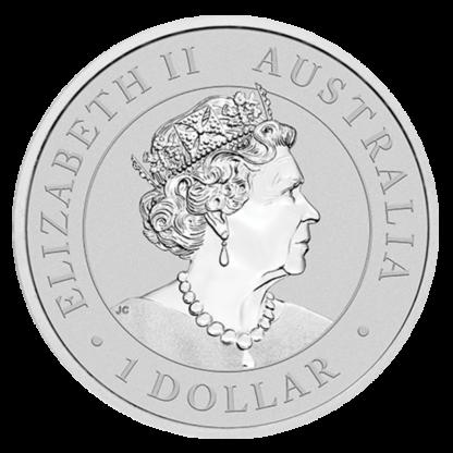 1 oz Perth Mint Silver Emu (2021)(Back)