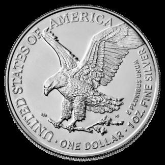 1 oz American Eagle Silver Coin (2021) new design(Front)