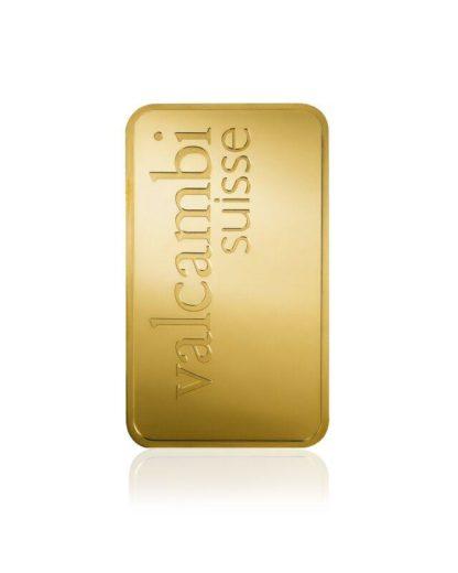 10 oz Gold Bar | Valcambi(Back)