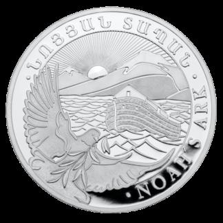 1 oz Noah's Ark Silver Coin (2021)(Front)