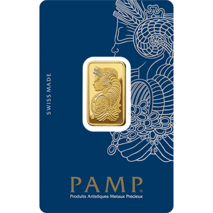 10g Gold Bar | PAMP Fortuna(Front)