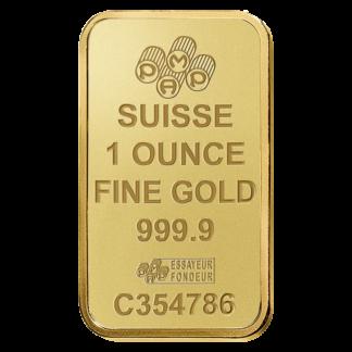 1 oz Gold Bar | PAMP Suisse(Front)