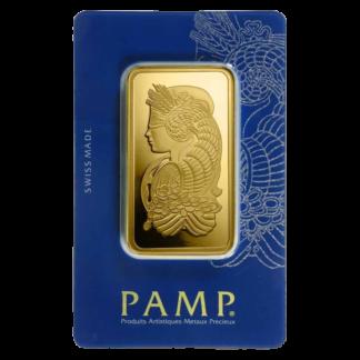 100g Gold Bar | PAMP Fortuna(Front)